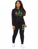 Black girl Magic Sweatsuit