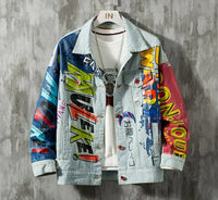 Denim spilt Jacket