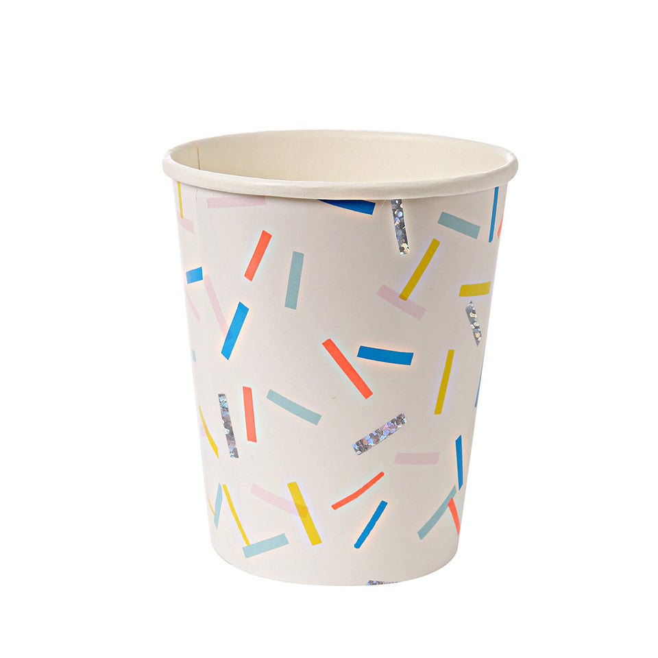Colorful Sprinkle Paper Cup