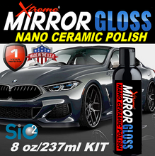 Load image into Gallery viewer, MIRROR GLOSS Liquid Ceramic Polish 8oz/237ml
