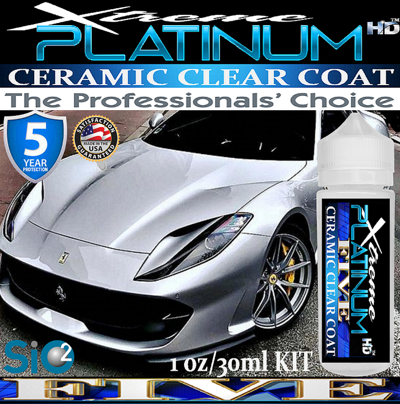 Xtreme PLATINUM 'FIVE' Ceramic Clear Coat 1oz/30ml