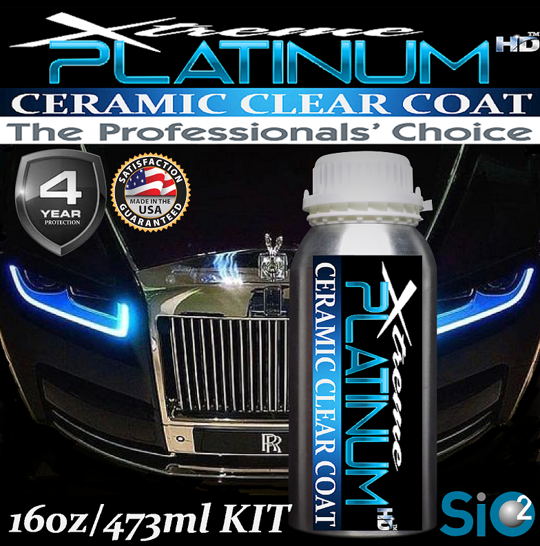 Xtreme PLATINUM HD Ceramic Clear Coat 16oz/437ml