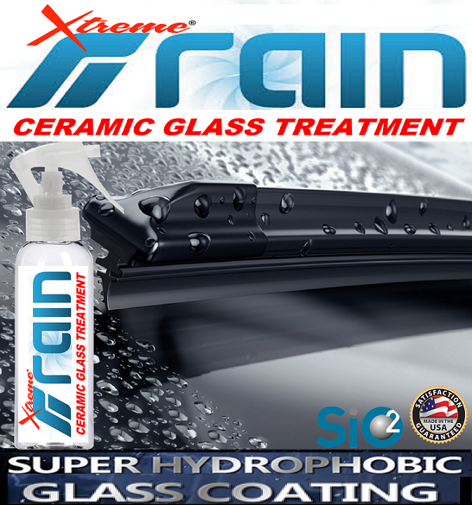 Rain-Xtreme Ceramic Glass Treatment 8oz/237ml