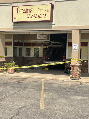 May 14th Incident Prairie Jewelers Car
