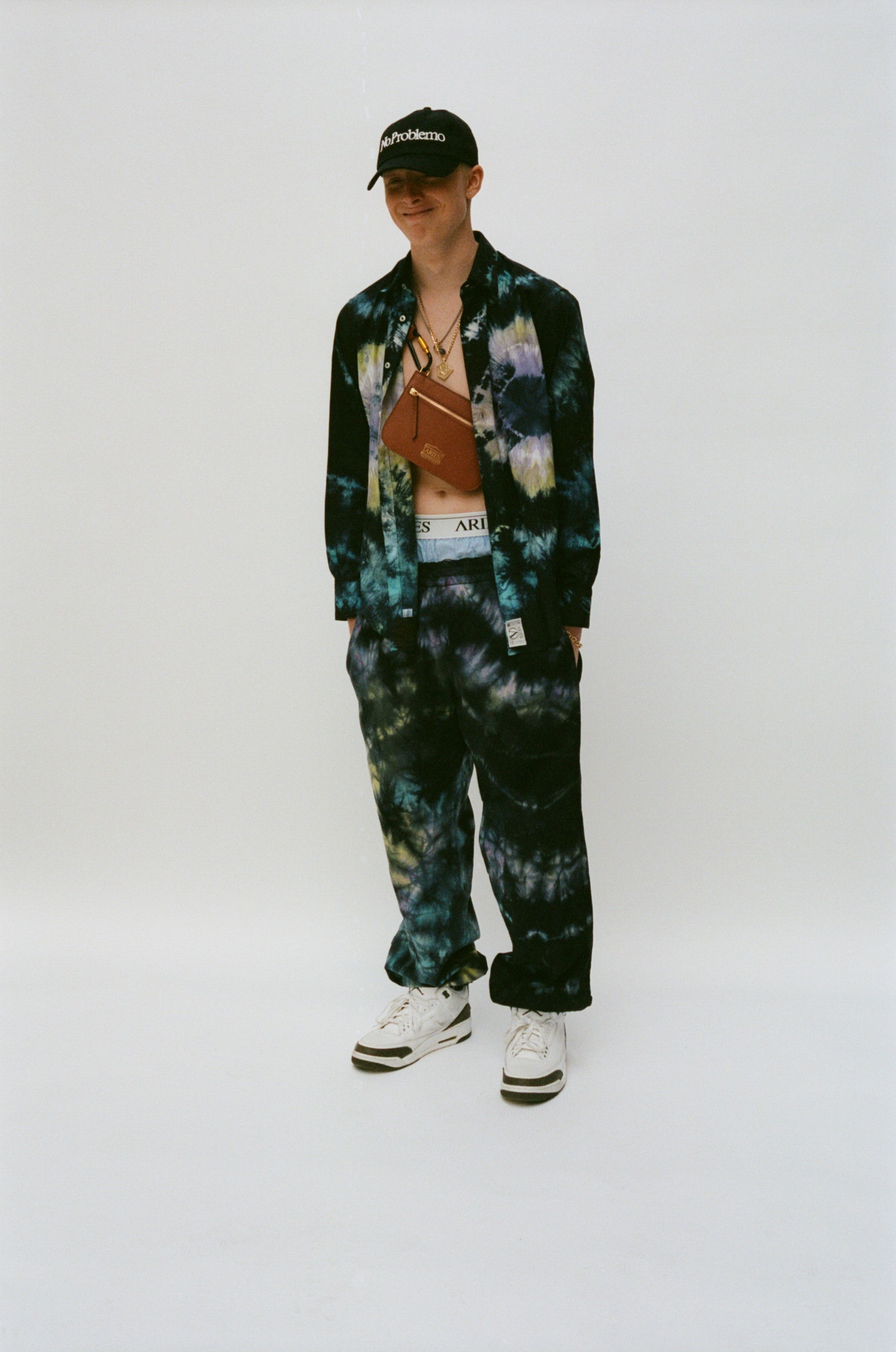 Load image into Gallery viewer, Cotton Tie-Dyed Track Pant