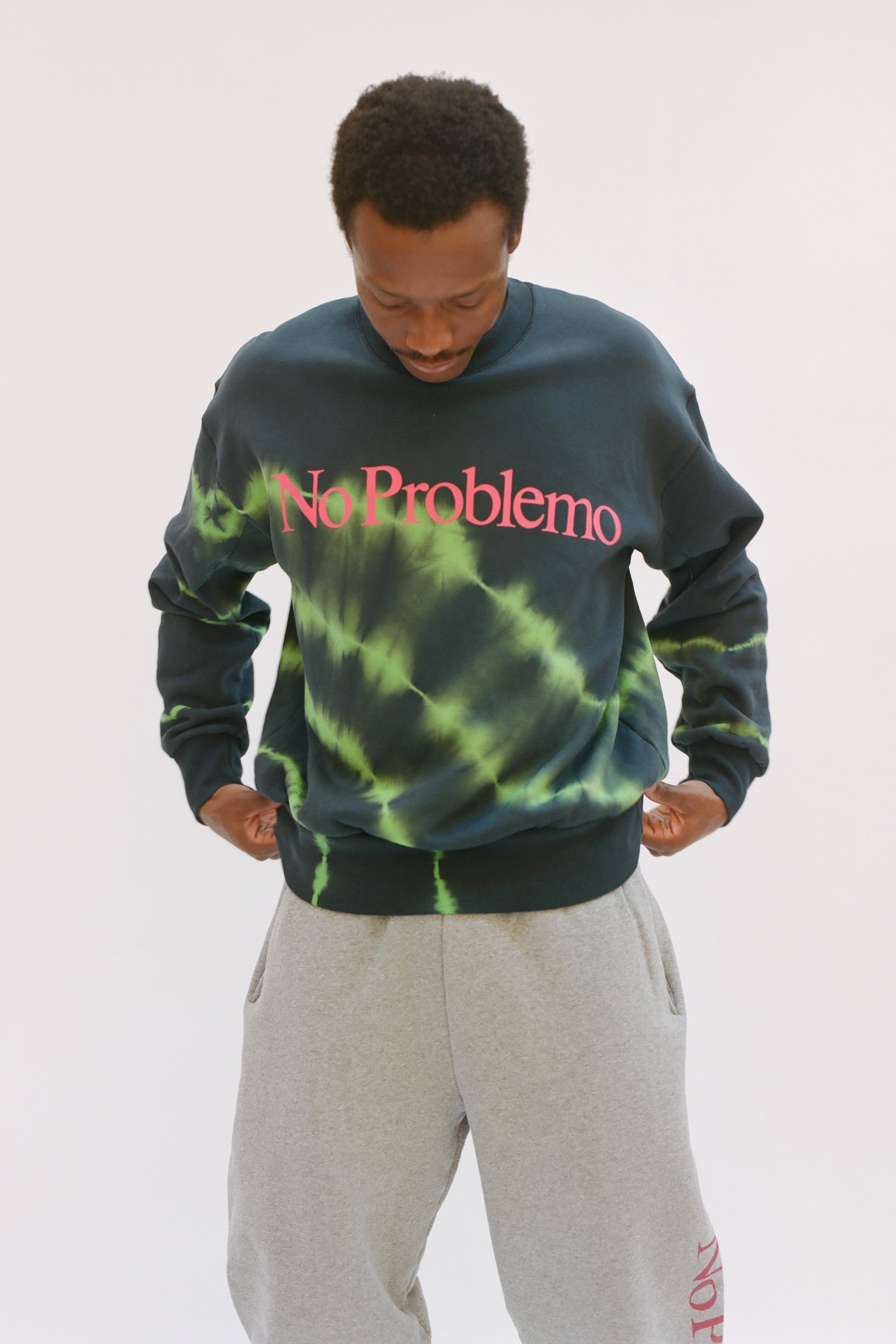 Load image into Gallery viewer, Tie-Dye No Problemo Sweatshirt