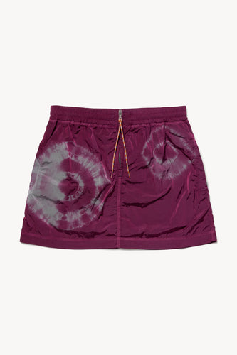 Tie-Dye Windcheater Skirt