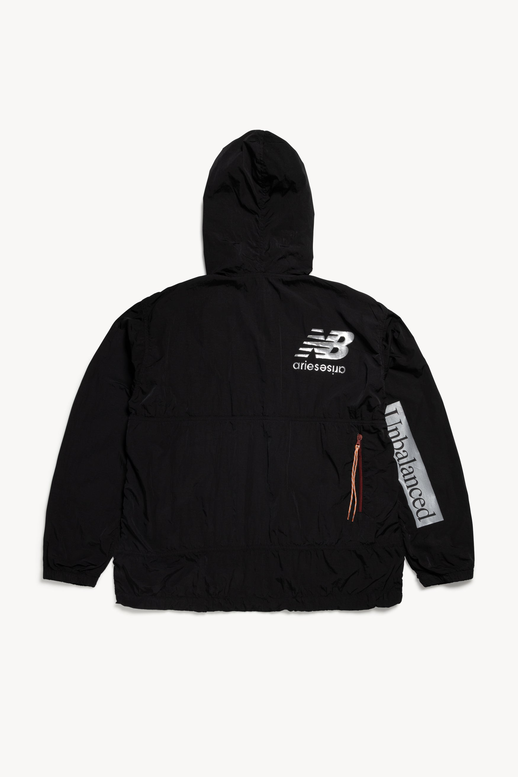 Load image into Gallery viewer, NB x Aries Unbalanced Windcheater Pullover