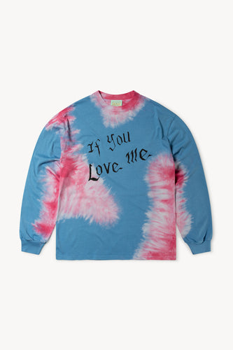 Aries x Love Clouds Tie Dye LS Tee