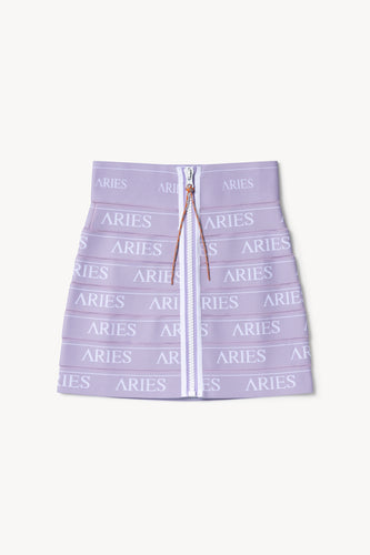 Logo Elastic Mini Skirt