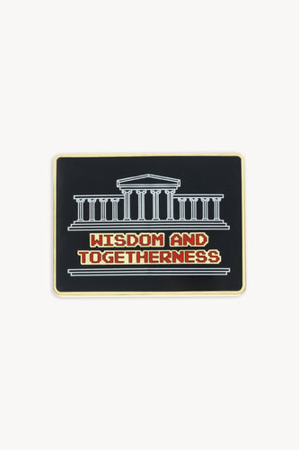 wisdom and togetherness pin