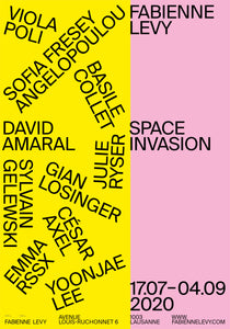 Space Invasion - Show Poster