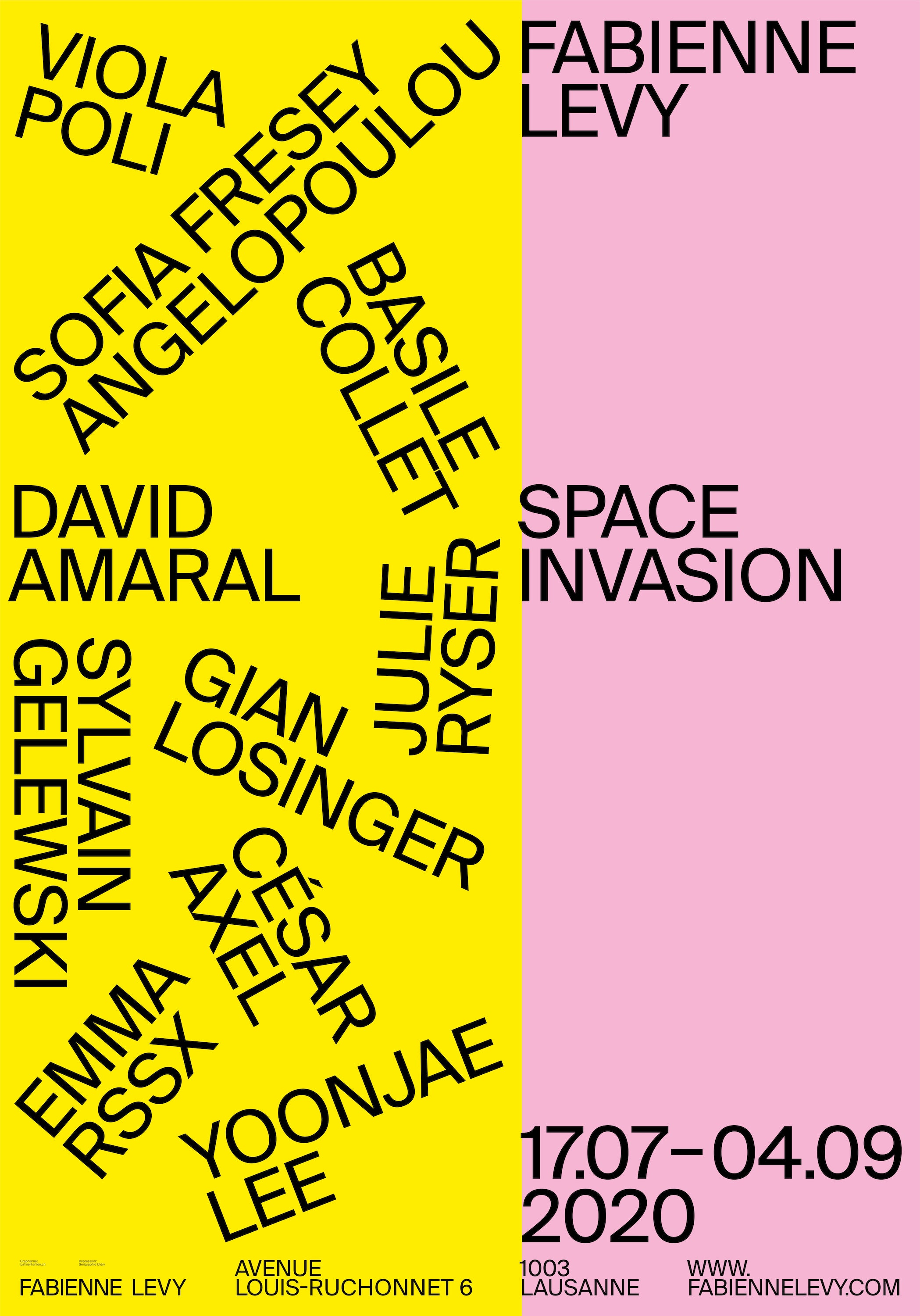 Space Invasion - Show & Statement Posters