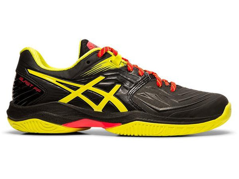 ASICS Gel Blast FF Squash Shoe (Womens) - Black / Sour Yuzu