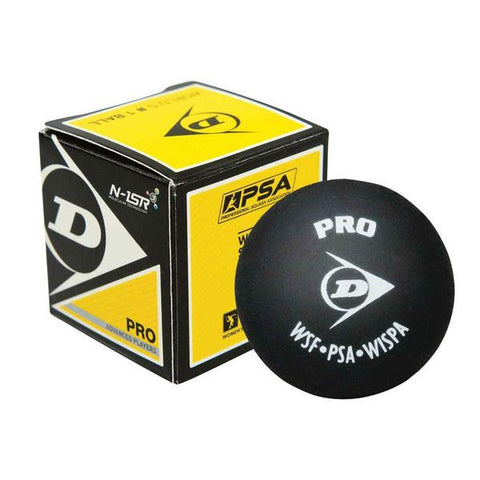 DUNLOP Pro Double Yellow Squash Ball