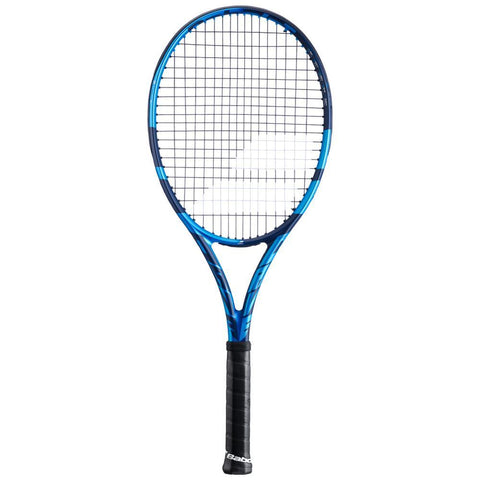 Blue Black Tennis Racquet