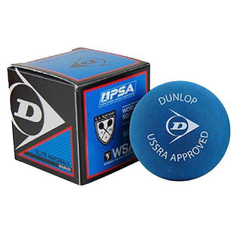 DUNLOP Elite Hardball Doubles Squash Ball