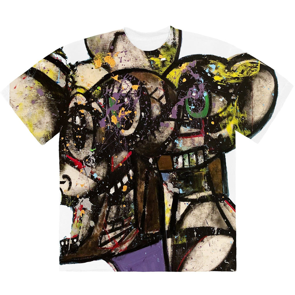 Travis Scott Franchise George Condo Portrait T-Shirt