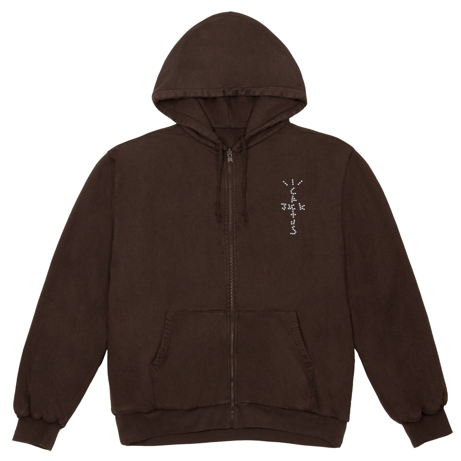 Travis Scott Franchise Live From Utopia Yup! Rhinestone Hoodie