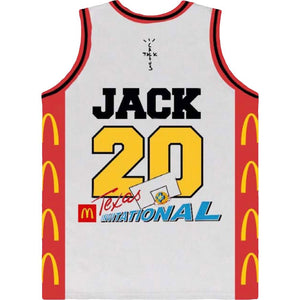 Travis Scott x McDonald's Cactus Jack All American Jersey