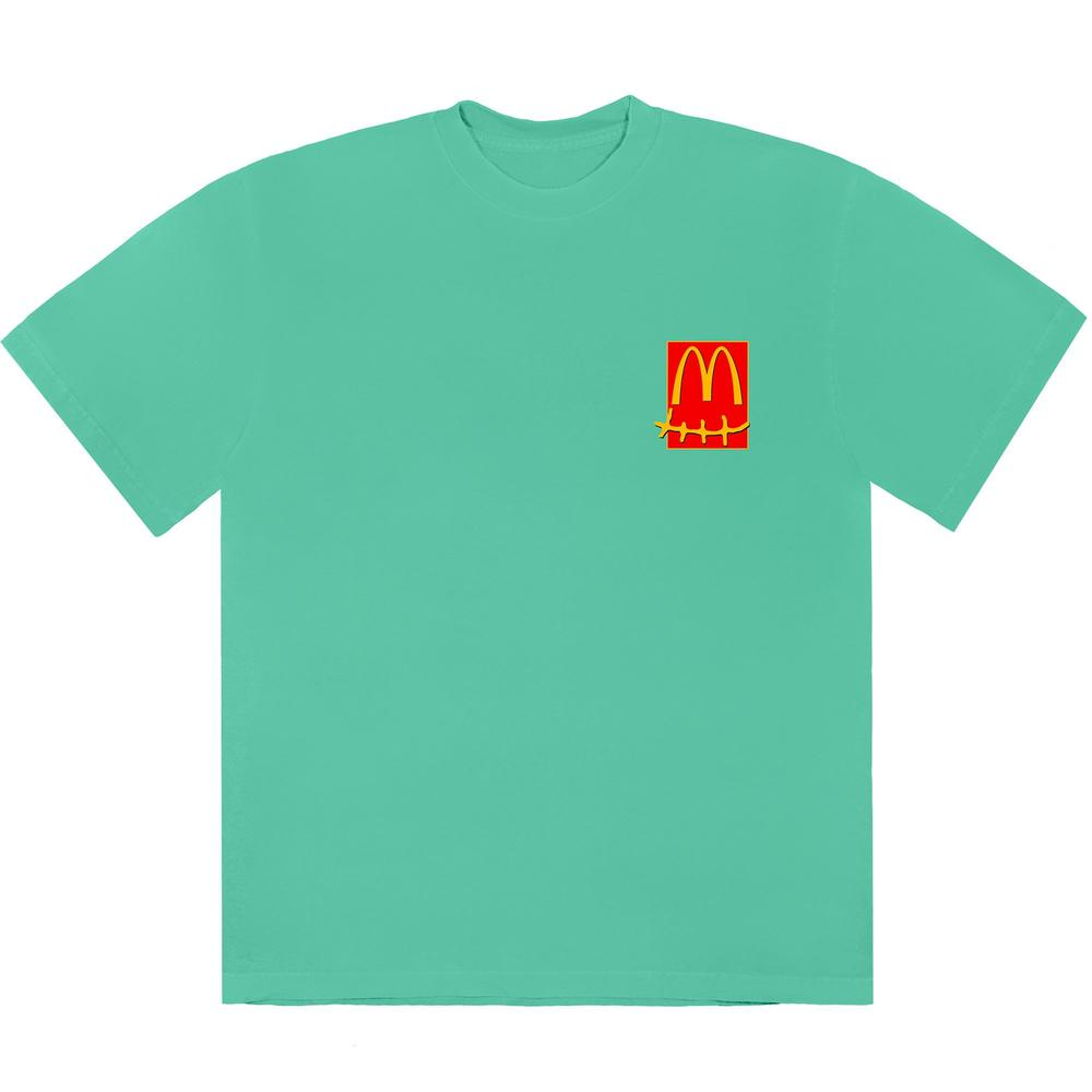 Travis Scott x McDonald's Action Figure Series T-Shirt IV Teal