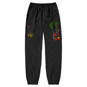 Travis Scott x McDonald's All American '92 Nylon Pants Black