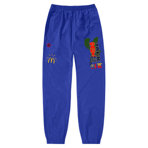 Travis Scott x McDonald's All American '92 Nylon Pants II Blue