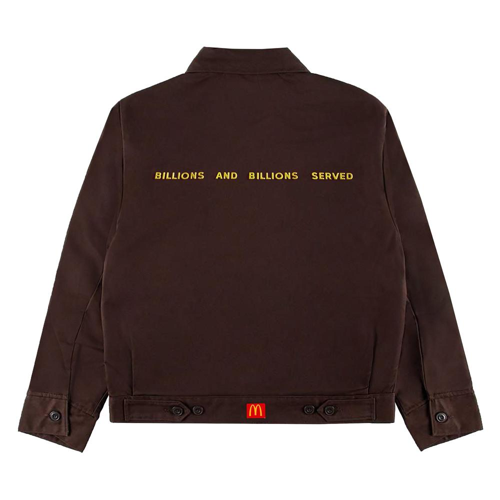Travis Scott x McDonald's Billions Served Work Jacket