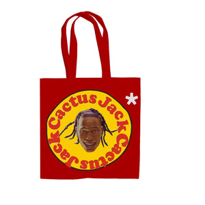 Travis Scott x McDonald's Cactus Plant Flea Market 60 Seconds Red Tote