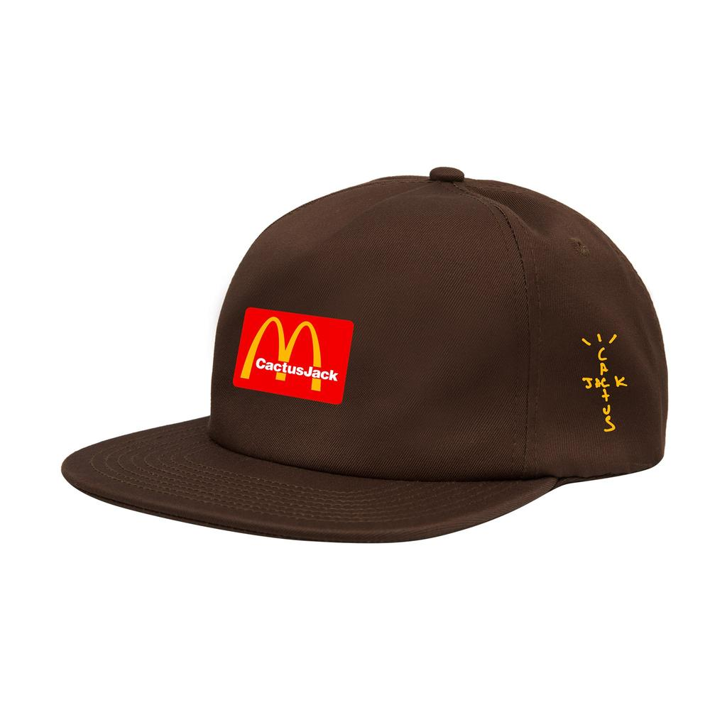 Travis Scott x McDonald's Cactus Jack Arches Hat