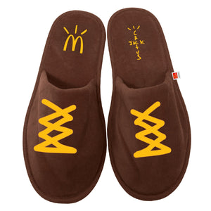 Travis Scott x McDonald's Cactus Jack CJ House Slippers