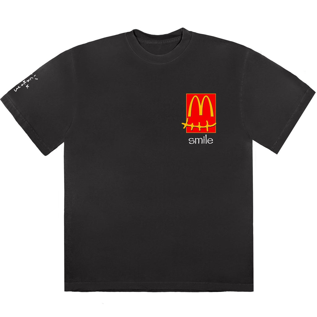 Travis Scott x McDonald's Smile T-Shirt