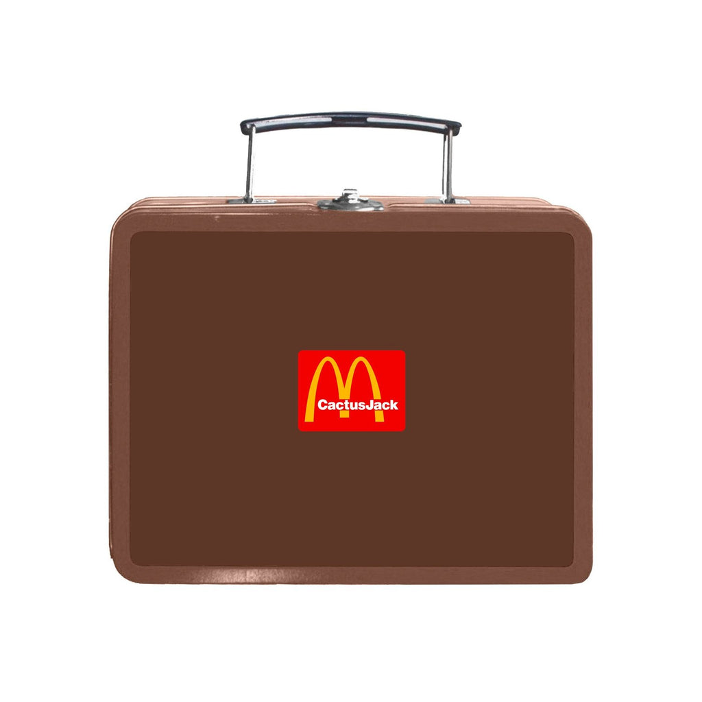 Travis Scott x McDonald's Cactus Pack Vintage Metal Lunch Box