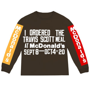 Travis Scott x McDonald's Cactus Plant Flea Market Souvenir Long Sleeve