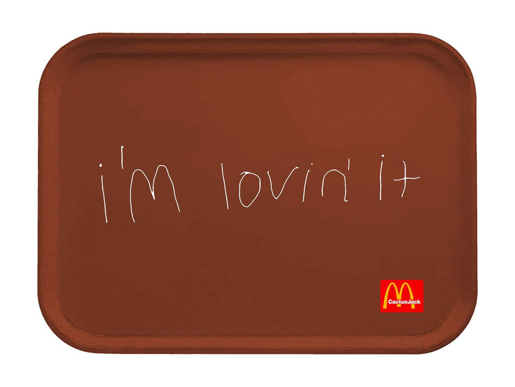 Travis Scott x McDonald's Cactus Jack I'M Lovin' It Lunch Tray