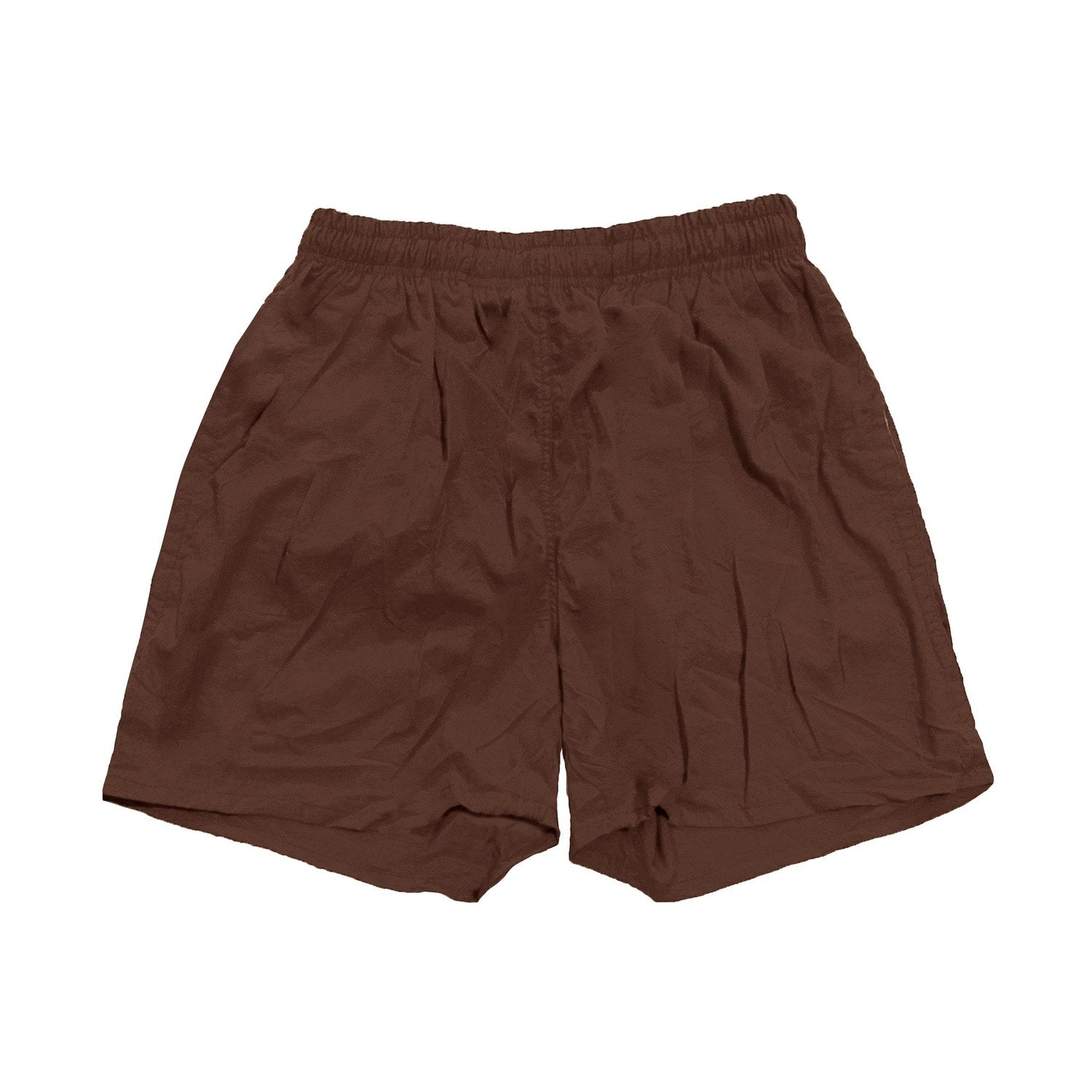 Travis Scott x McDonald's Illustration Brown Nylon Shorts