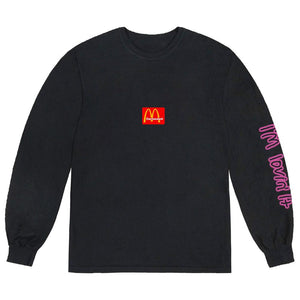 Travis Scott x McDonald's Action Figure Space L/S Shirt