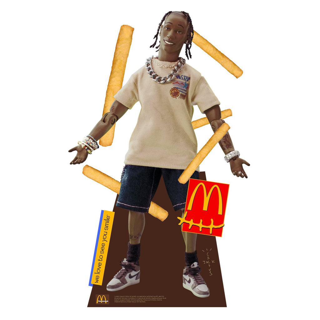 Travis Scott x McDonald's Action Figure Life-Size Cutout