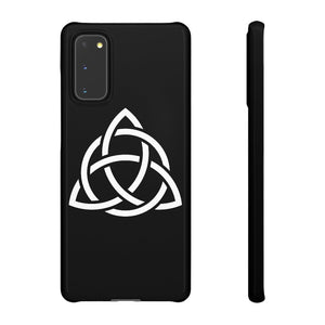 Black Triquetra Phone Case (ALL PHONES) - Project 369