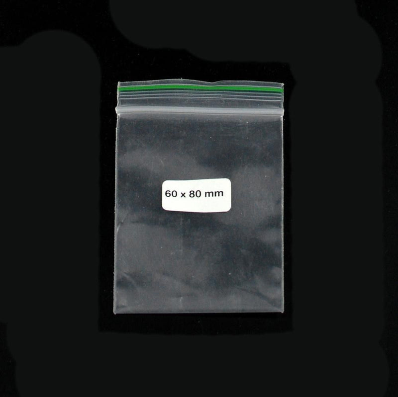 Ziplock Bag 60x80mm  0,09mm