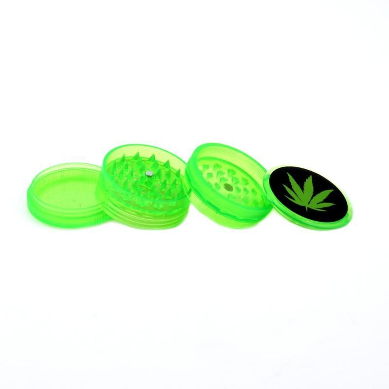 Plastic Grinders Mix Colors 4 parts (JL-175J)