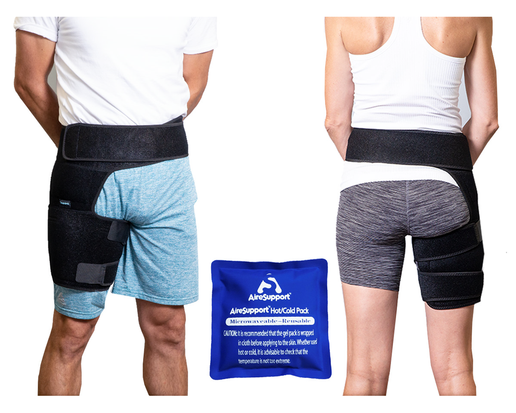 Hip Brace Front and back men and women with hot and cold pack