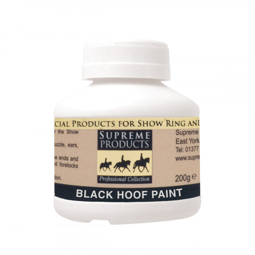 Supreme Products Hoof Paint Black