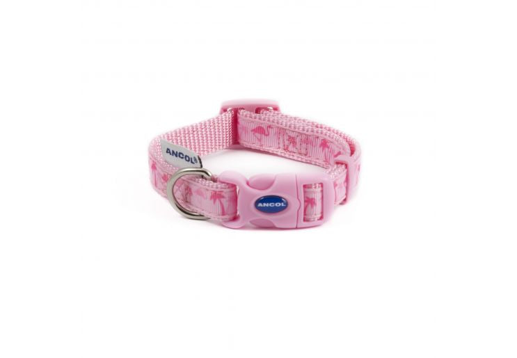 Ancol Fashion Collar Flamingo Size 1-2