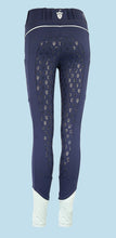 Load image into Gallery viewer, Blackfort Equestrian Navy Riding Tights - Celeste