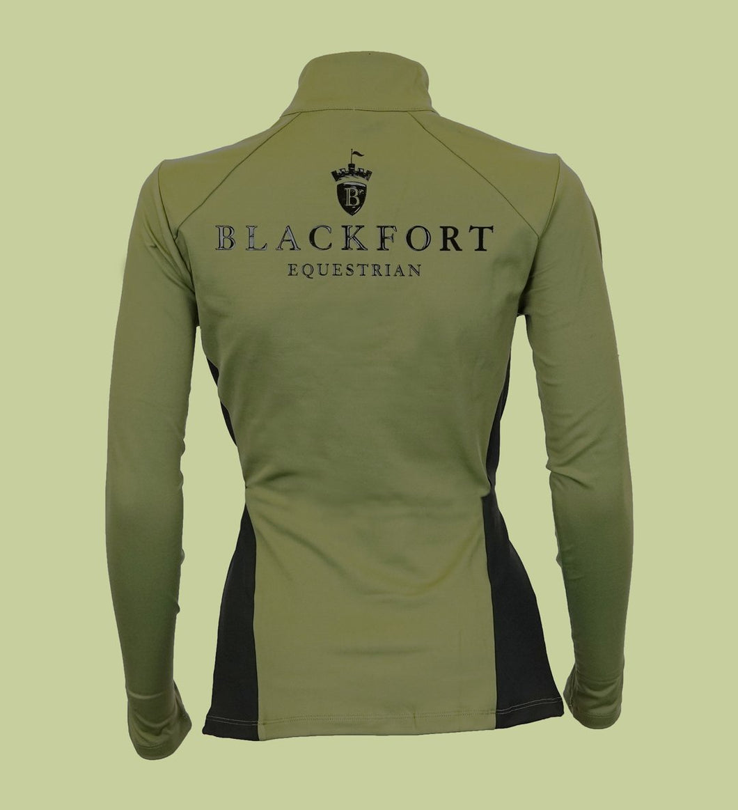 Blackfort Equestrian Khaki & Black Lace Base Layer