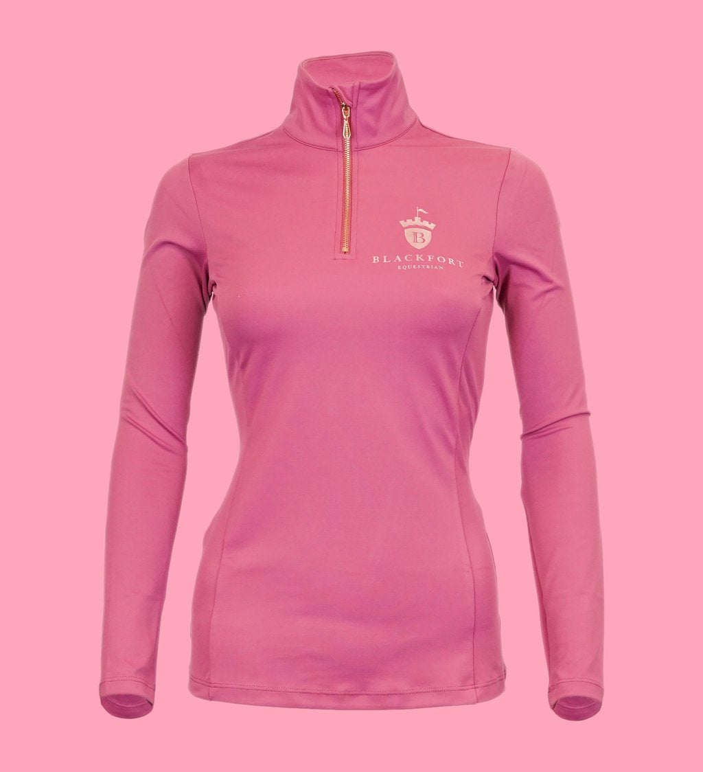 BlackFort Equestrian Base Layer - Rose Pink