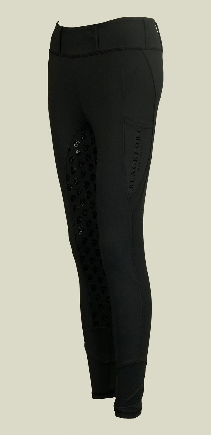 Blackfort Equestrian Riding Tights - Black