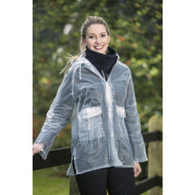 Load image into Gallery viewer, HKM Transparent Rain Jacket