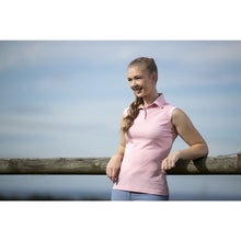 Load image into Gallery viewer, HKM Sleeveless Polo Shirt - Classico